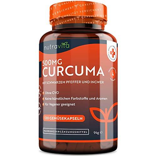 Curcuma Extrakt Kapseln – Curcumingehalt EINER Kapsel entspricht dem...