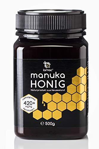 Larnac Manuka Honig 420+ MGO aus Neuseeland, 500g, zertifizierter...