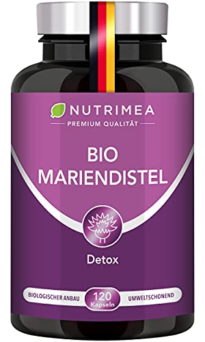 DETOX Mariendistel BIO | Natürlich Leber & Körper entgiften | Reines...