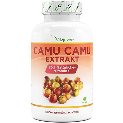 Camu Camu Kapseln - Natürliches Vitamin C - 240 vegane Kapseln für 8...