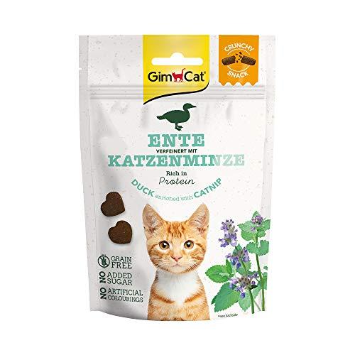 GimCat Crunchy Snack - Knuspriges und proteinreiches Katzenleckerli...