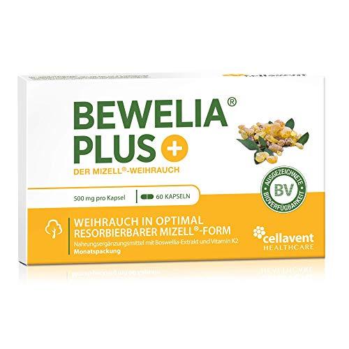Weihrauch Kapseln von Bewelia PLUS mit 500 mg & 250 mg AKBA -...
