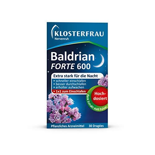 Klosterfrau 5x 30 Dragées Nervenruh Baldrian Forte 600 bei leichter...