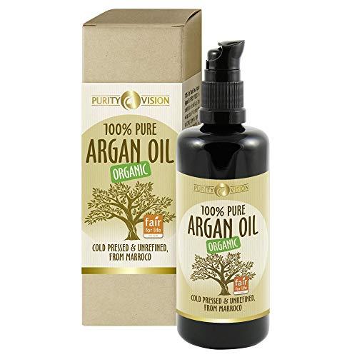 Purity Vision Arganöl für alle Hauttypen | für die Haare | für...