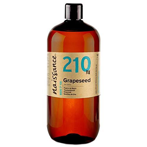 Naissance Traubenkernöl (Nr. 210) 1 Liter (1000ml) 100% natürlich