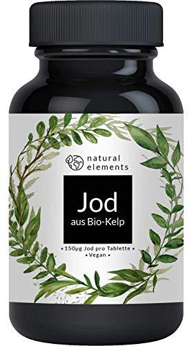 Bio Kelp (Natürliches Jod) - 365 Tabletten mit je 150µg Jod aus...