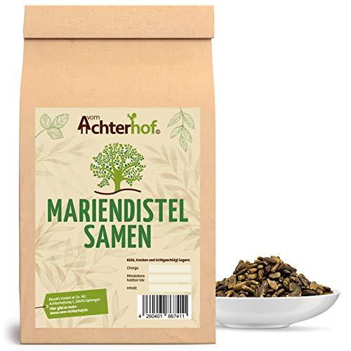 1 kg Mariendistelsamen ganz Mariendistel natürlich vom-Achterhof...