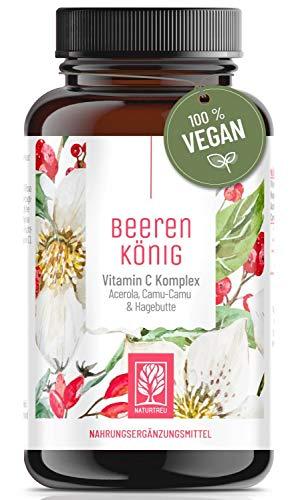 Vitamin C Komplex l Natürliches Vitamin C aus Acerola Hagebutte...