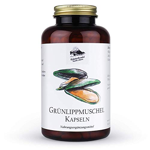 Kräuterhandel Sankt Anton - Grünlippmuschel Kapseln - 300 Kapseln -...