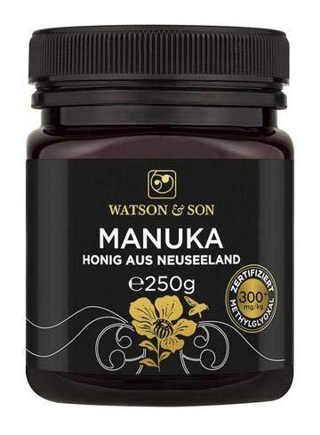 Watson & Son Manuka Honig MGO 300+ 250g, zertifizierte Premium...