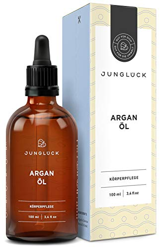 Junglück Arganöl 100% rein & vegan   100 ml in Braunglas  ...