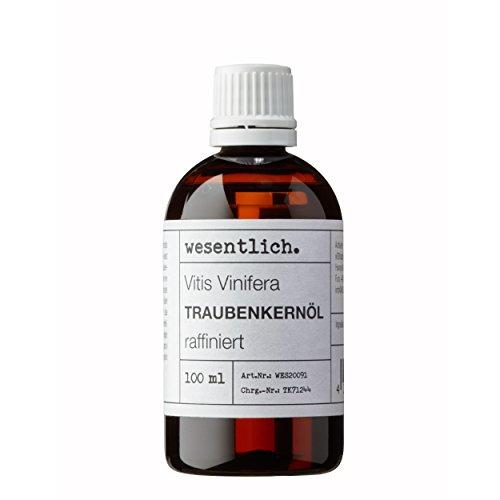Traubenkernöl 100ml - 100% reines Öl (Vitis Vinifera Seed Oil) von...