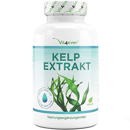 Vit4ever Kelp Extrakt (Natürliches Jod) - 365 Tabletten mit je 150...