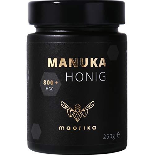 maorika - Manuka Honig 800 MGO + 250g im Glas (lichtundurchlässig,...