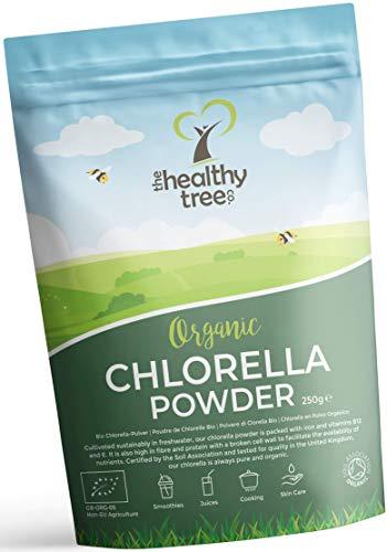 Bio Chlorella Pulver von TheHealthyTree Company für Säfte und...