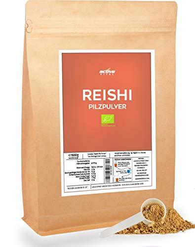 Reishi-Pulver-Bio 500g Vital Pilz 100% natürlich inkl Dosierlöffel