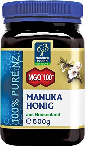 Manuka Health aktiver Manuka-Honig MGO 100+, 1er Pack (1 x 500 g),...