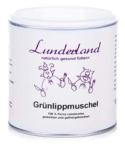 Lunderland Grünlippmuschel für Hunde, Katzen und Pferde, 1er Pack (1...