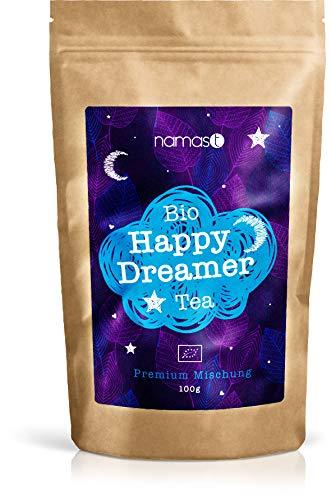 BIO Happy Dreamer Tea 100g - Abendtee, Entspannungstee - biologische...