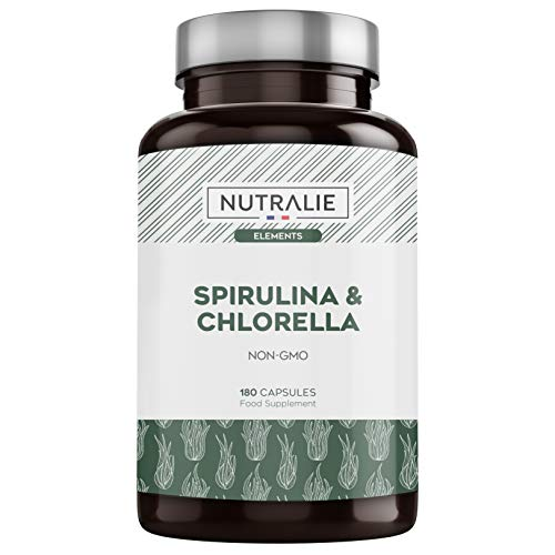 Spirulina & Chlorella 1800mg | Entgiftung, Energie, Kraft &...