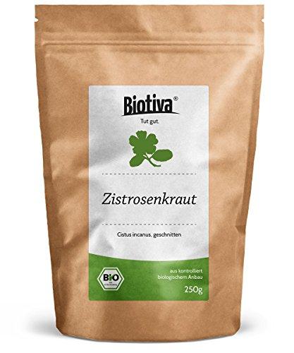 Zistrosenkraut Bio 250g Cistus Incanus - hochwertigste Bio-Qualität -...