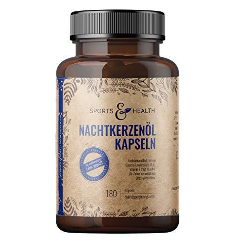 Nachtkerzenöl Kapseln - 180 Kapseln Hochdosiert 2000mg pro...