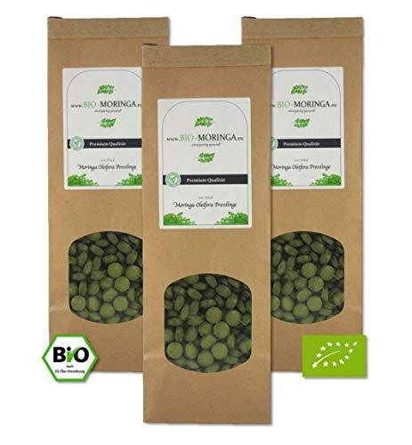 Moringa Presslinge '3x 200 Stück' (500mg Tabletten / Kapseln) -...