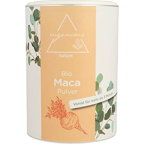 ingenious nature® Laborgeprüftes Bio Maca Pulver 500g - von der...
