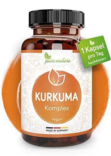 HOCHDOSIERTER Kurkuma Komplex I 1 Kps/Tag I 12.000mg Curcuma pro...