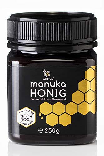 Larnac Manuka Honig 300+ MGO aus Neuseeland, 250g, zertifizierter...