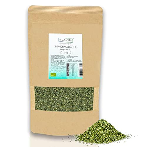 Vita Natura Moringa-Blätter-Tee Bio, schonend luftgetrocknet, aus...