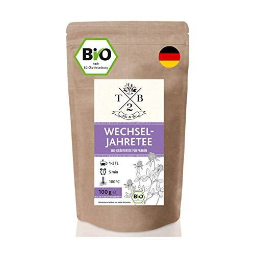 Wechseljahre Tee in Bio-Qualität zu Menopause und Hitzewallungen mit...