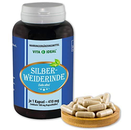 VITA IDEAL ® Silber-Weide-Rinde (Salix alba) 180 Kapseln je 410mg,...