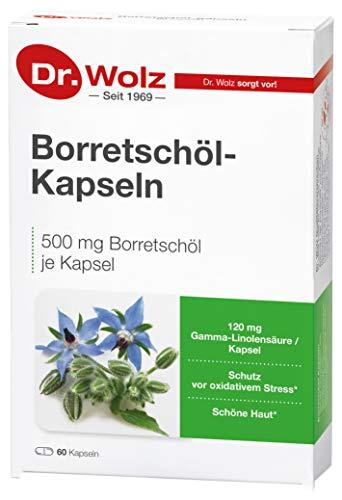 Borretschöl Kapseln von Dr. Wolz, 60 Kapseln