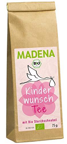 MADENA Bio Kinderwunschtee für Frauen I Schwangerschaft I...