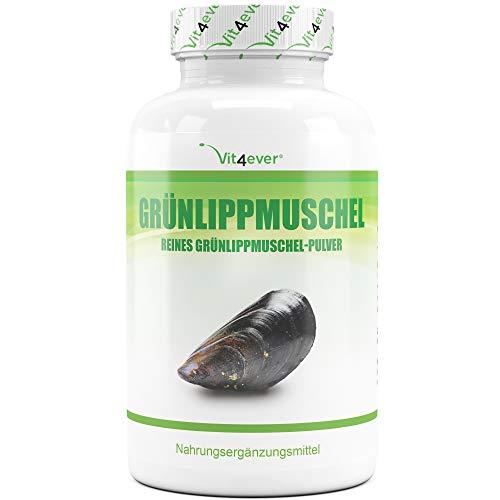 Vit4ever Grünlippmuschel 320 Kapseln mit jeweils 600 mg - 1800 mg pro...
