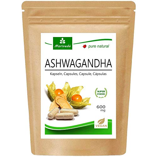 Ashwagandha Kapseln 600mg oder Tabletten 1000mg – reines...