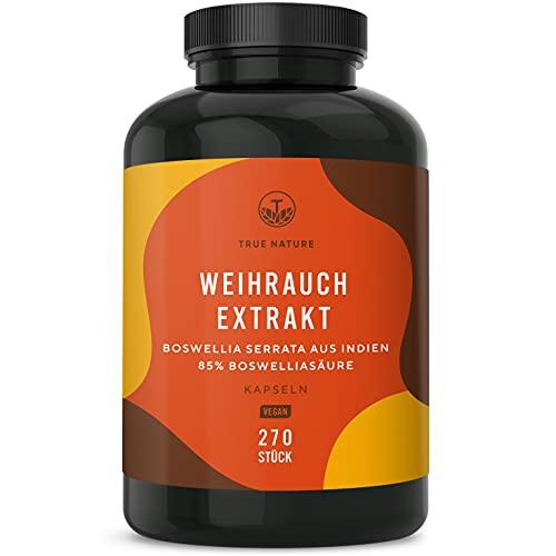 TRUE NATURE® Weihrauch Extrakt (Indischer Boswellia Serrata) - 270...
