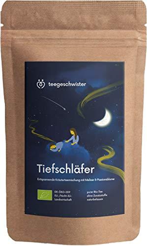 teegeschwister® | BIO Schlaf- & Beruhigungs-Tee | Kräuter-Tee zur...