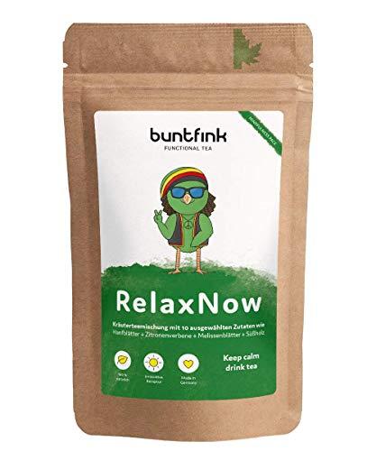 "Buntfink ""RelaxNow"" Tee mit Moringa + Passionsblume +..."