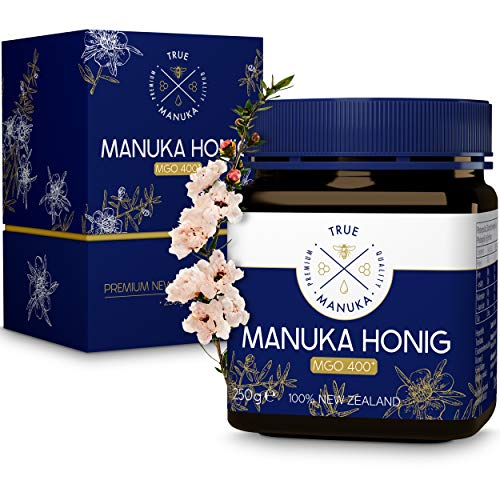 True Manuka - Manuka Honig - Zertifizierter MGO Gehalt 400+ [250g] -...