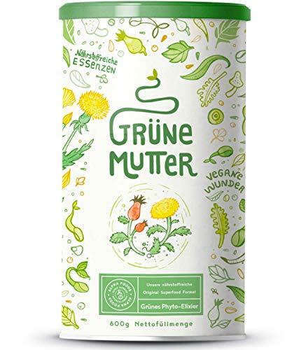 Grüne Mutter | Smoothie Pulver | Das Original Superfood Elixier u.a....
