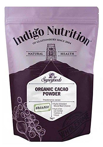 Indigo Herbs BIO Kakaopulver 1Kg (Cacao Pulver)