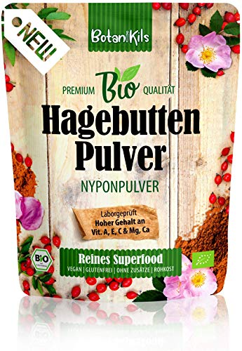 Bio Hagebuttenpulver 1kg Für die normale Immunsystemfunktion und...