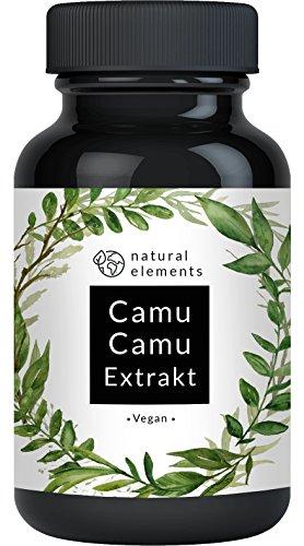 Camu-Camu Kapseln - Natürliches Vitamin C - Vergleichssieger 2020* -...