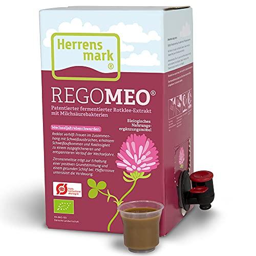 REGOMEO - Fermentierter Rotklee-Extrakt (1 Liter) - Für Frauen in und...