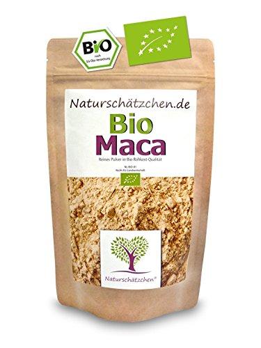 Bio Maca Pulver (Macapulver) in geprüfter Bio-Qualität (DE-ÖKO-022)...