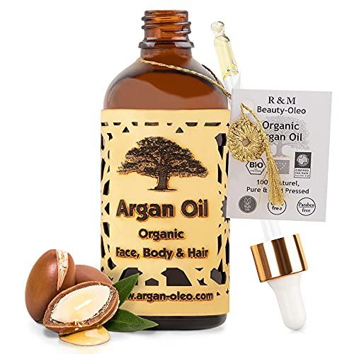 SEHR GUT IM TEST - R&M Beauty-Oleo Bio Argan-Öl aus Marokko - Fair...