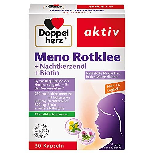Doppelherz Meno Rotklee – Nährstoffe für die Frau in den...
