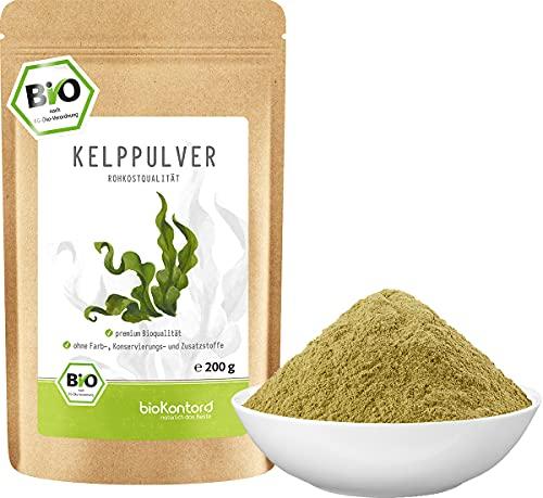 Kelppulver BIO 200 g I Kelpalge aus kontrolliert biologischem Anbau I...